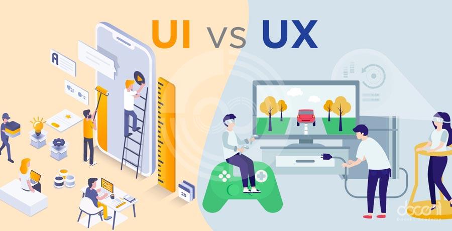 تفاوت Ui و Ux: